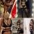 ADOME Erotische Dessous-Set Damen Reizwäsche 4-TGL Erotik Strapse Set Unterwäsche Sexy Spitze BH und Slip Strumpfband für Damen - 4
