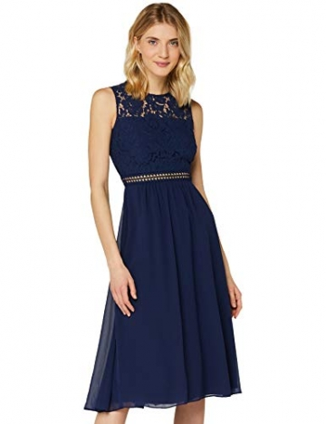 Amazon-Marke: TRUTH & Fable Damen brautkleid, Blau (Blue), M - 1