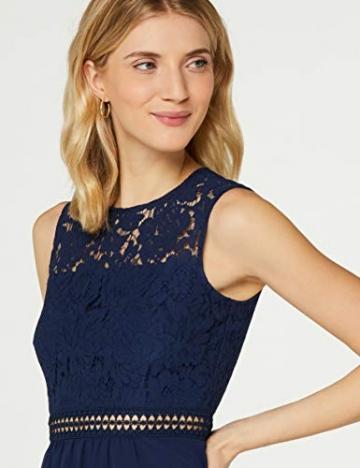 Amazon-Marke: TRUTH & Fable Damen brautkleid, Blau (Blue), M - 3