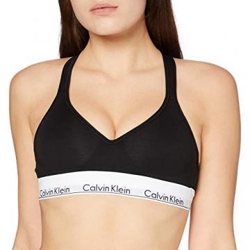 Calvin Klein Damen Bustier Bralette Lift BH, Schwarz (Black 001), S (84-89 cm) - 1
