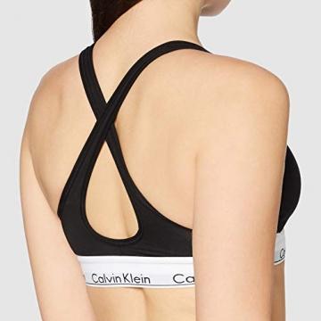 Calvin Klein Damen Bustier Bralette Lift BH, Schwarz (Black 001), S (84-89 cm) - 3