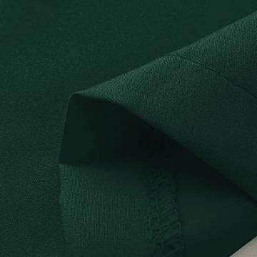 Dasongff Damen Boho Cocktailkleid V-Ausschnitt Kleid Ballkleid A Linie Kleider Langarm Schnür Partykleid Club Kurz Bodycon Minikleid Sommerkleid Slim Fit Pack Hüftkleid Strandkleid - 4