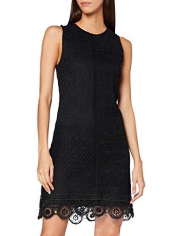 Desigual Damen Vest_madrid Casual Dress, Schwarz, L EU - 1