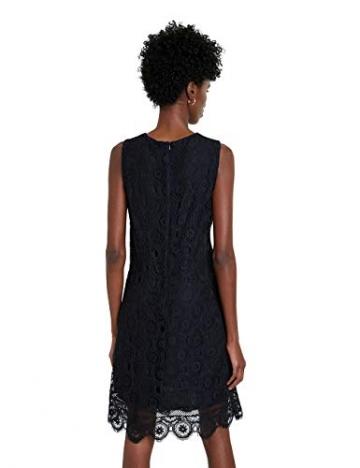 Desigual Damen Vest_madrid Casual Dress, Schwarz, L EU - 2