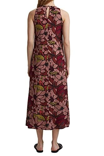 ESPRIT Collection Damen 061EO1E321 Kleid, 808/TERRACOTTA 4, 38 - 2