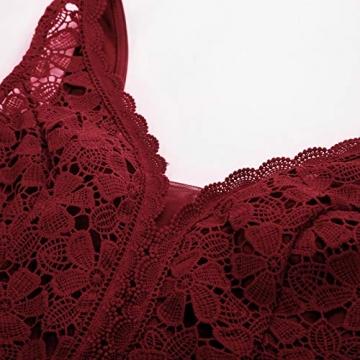 GRACE KARIN Rockabilly Kleider sexy cocktailkleider elegant Retro Kleider CL136-4 S - 3