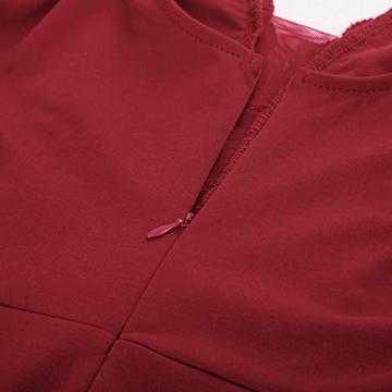 GRACE KARIN Rockabilly Kleider sexy cocktailkleider elegant Retro Kleider CL136-4 S - 4