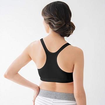 Medela Schlaf Bustier – Nahtloser BH mit Stretchmaterial – Für komfortablen Halt beim Schlafen während und nach der Schwangerschaft - 4