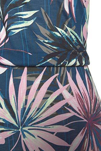 SEBOWEL Damen Maxikleid Sommer Boho Kleider Lang Bandeau Ärmelloses Sommerkleid Strandkleider Elegante Freizeitkleid CocktailKleider Abendkleid (S, Grün) - 5