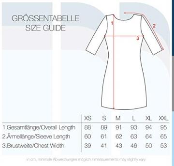 VERO MODA Ewelina Damen Etuikleid Mit Spitze Abendkleid Mit Rundhals-Ausschnitt Elastisch, Größe:XL, Farbe:Black - 6