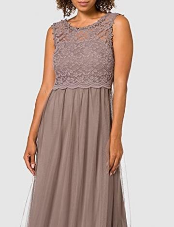 Vila Clothes Damen VILYNNEA Maxi Dress-NOOS Kleid, Fungi, 40 - 2