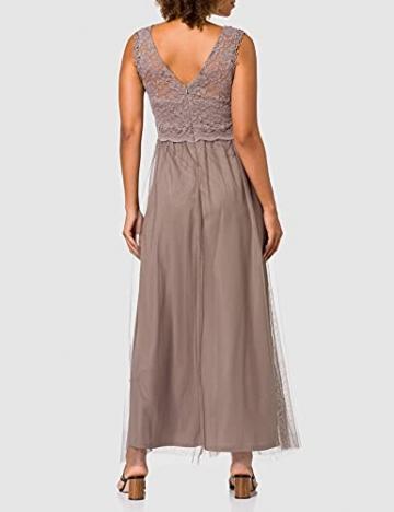 Vila Clothes Damen VILYNNEA Maxi Dress-NOOS Kleid, Fungi, 40 - 3