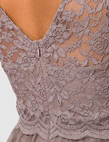 Vila Clothes Damen VILYNNEA Maxi Dress-NOOS Kleid, Fungi, 40 - 4