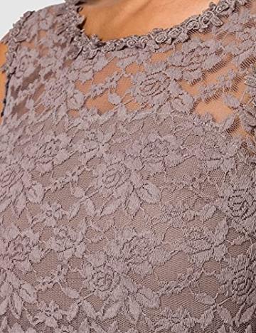 Vila Clothes Damen VILYNNEA Maxi Dress-NOOS Kleid, Fungi, 40 - 5